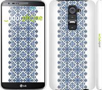 "Чехол на LG G2 Вышиванка 11 ""578c-37"""