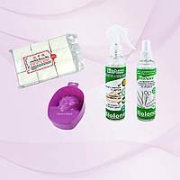 Безворсовые салфетки Special Nail +Ванночка для рук + БиоЛонг для кожи и инструментов 250мл.