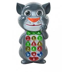 Умный телефон Котофон Кот Том 7344 обучающий телефон детский