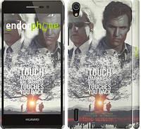 """Чехол на Huawei Ascend P7 Настоящий детектив v2 """"2652c-49"""""""