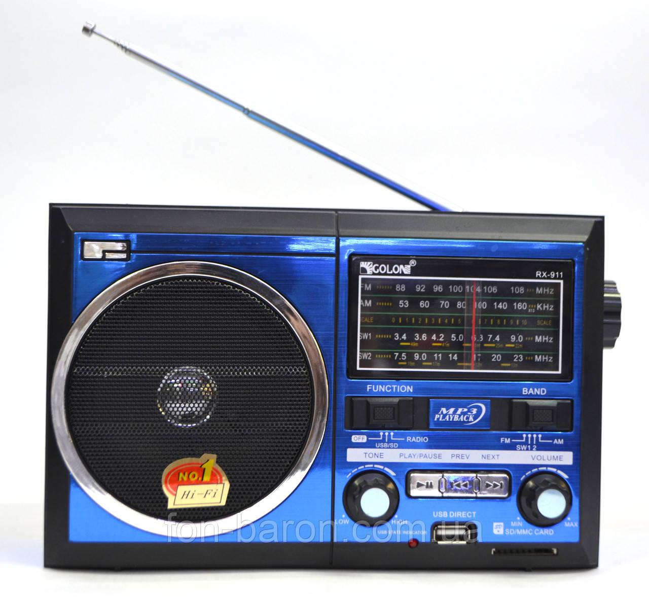 Радиоприемник GOLON RX-911, фото 1