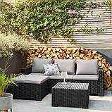 Набор садовой мебели Moorea Set Unity из искусственного ротанга ( Allibert by Keter ), фото 10