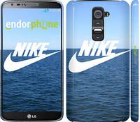 "Чехол на LG G2 Nike v14 ""2730c-37"""
