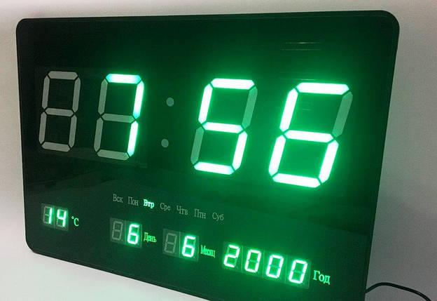 Электронные часы (подсветка: синяя), фото 2
