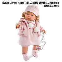 Кукла испанская Llorens   Карла 42cм  ТМ LLORENS JUAN S.L   производство Испания CARLA 42 СМ