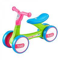 Беговел Ride on Tobi Pink-Green, Milly Mally (5901761123067), фото 1