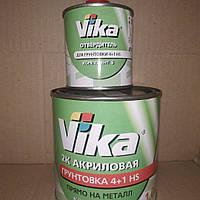 Акриловый грунт VIKA  4:1  1л серый