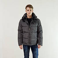 Куртка мужская зимняя Snowimage с капюшоном 48 темно-серый 104-9149