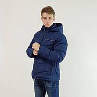 Куртка мужская зимняя Snowimage с капюшоном 50 синий 115A-3334