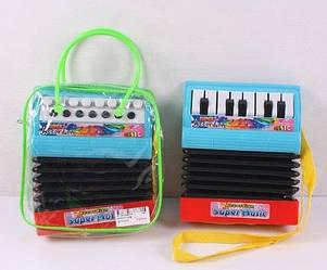 Аккордеон WX2111-A/B игрушечный музыкальный детский
