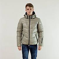 Куртка мужская зимняя Snowimage с капюшоном 48 серый 130-9188