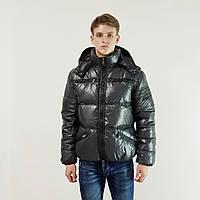 Куртка мужская зимняя Snowimage с капюшоном 46 темно-серый 133-9077, фото 1