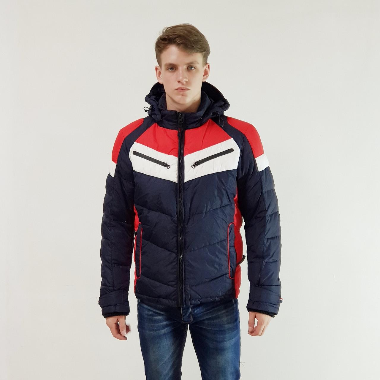 Куртка мужская зимняя Snowimage с капюшоном 46 синий 141-3349