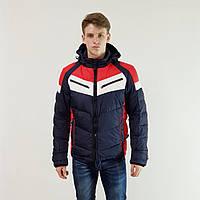 Куртка мужская зимняя Snowimage с капюшоном 46 синий 141-3349, фото 1