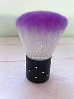 Кисточка для удаления пыли (фиолетовая)