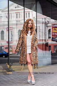 Леопардовая шуба | натуральный мех