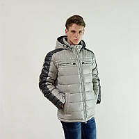 Пуховик  Snowimage 48 светло-серый 312A-9354