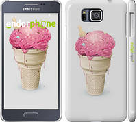 "Чехол на Samsung Galaxy Alpha G850F Мороженко ""2535c-65"""