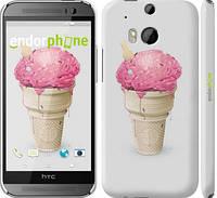"Чехол на HTC One M8 dual sim Мороженко ""2535c-55"""
