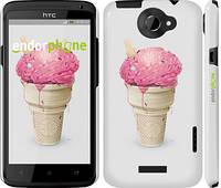 """Чехол на HTC One X Мороженко """"2535c-42"""""""