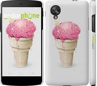 """Чехол на LG Nexus 5 Мороженко """"2535c-57"""""""
