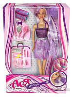 Набор Модные прически блондинка в фиолетовом Ася 35063