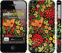"""Чехол на iPhone 4s Хохлома 2 """"250c-12"""""""