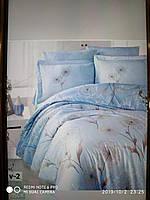 Комплект постельного белья евро 200×220. Турция.