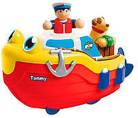 Іграшка Tommy Tug Boat bath toy буксирний човен (іграшки для купання) (04000), Разноцветный