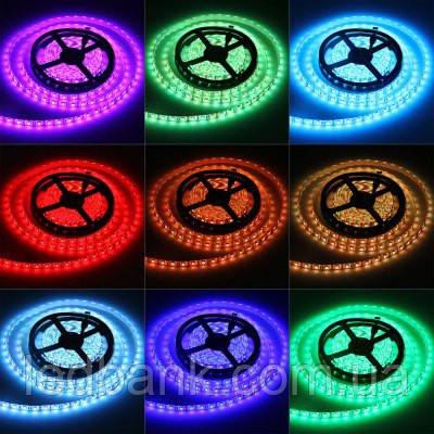 Світлодіодна стрічка SMD RGB 5050 60 LED/m IP 65 герметична