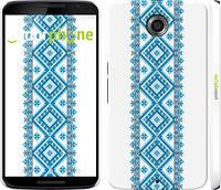 """Чехол на Motorola Nexus 6 Вышиванка 23 """"591c-67"""""""