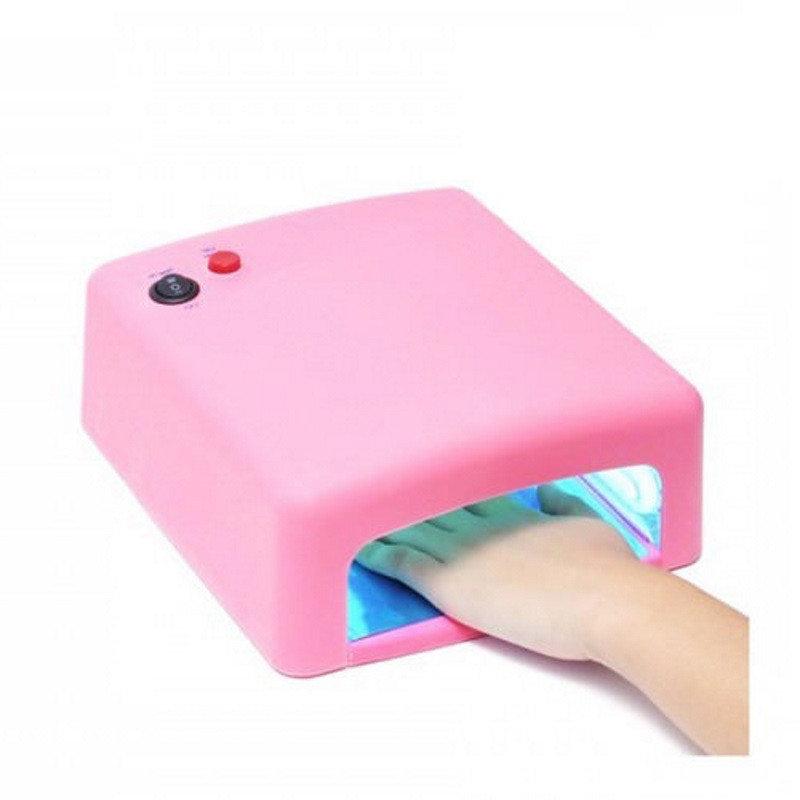 Ультрафиолетовая лампа для ногтей 36Вт таймер 120сек 4 лампочки D1001 сушка сушилка гель лака