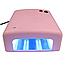 Ультрафиолетовая лампа для ногтей 36Вт таймер 120сек 4 лампочки D1001 сушка сушилка гель лака, фото 8