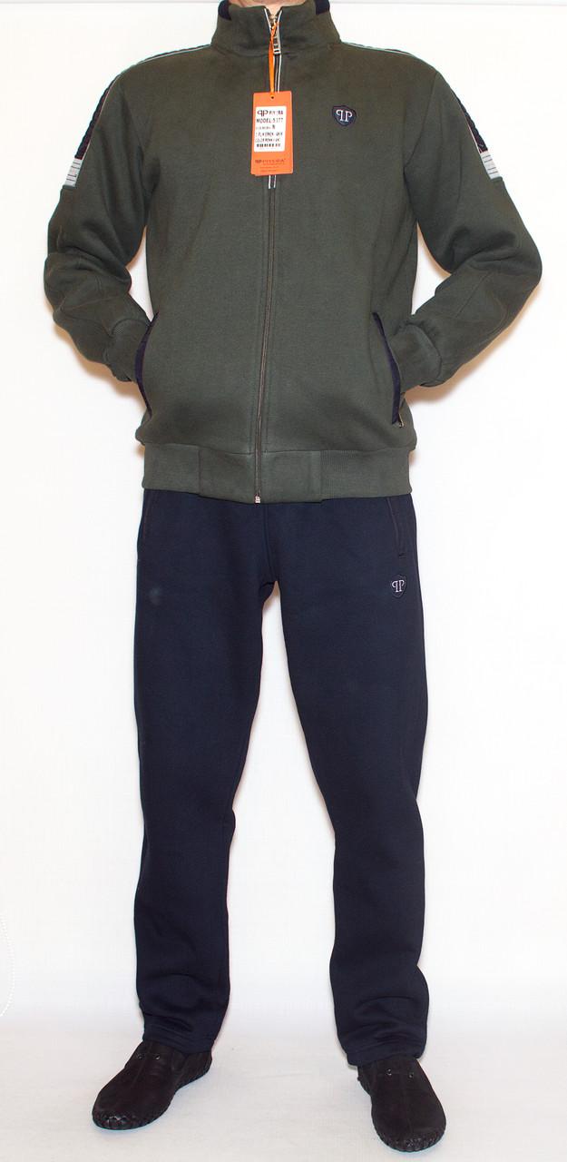 Теплий спортивний костюм чоловічий  PIYERA 5077 (M-3XL)