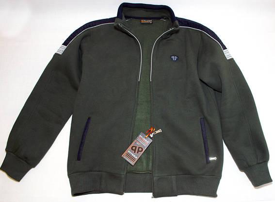 Теплий спортивний костюм чоловічий  PIYERA 5077 (M-3XL), фото 3