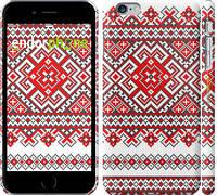 """Чехол на iPhone 6 Plus Вышиванка """"2316c-48"""""""