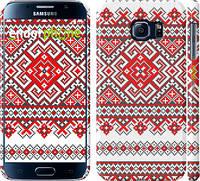 "Чехол на Samsung Galaxy S6 G920 Вышиванка ""2316c-80"""