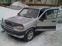 Дефлектор капота (мухобойка) ANV на Chevrolet Niva Bertone