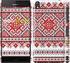 """Чехол на Sony Xperia Z3 dual D6633 Вышиванка """"2316c-59"""""""