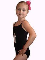 Купальник гимнастический детский Rivage Line черный BM2273B