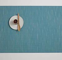 Коврик для сервировки стола CHILEWICH BAMBOO 35*48 см (0025-BAMB-TEAL)