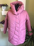 Зимняя модная женская куртка   (холлофайбер), фото 1