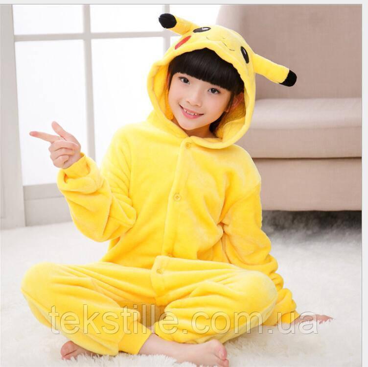 Кигуруми пижама Детский Пикачу130,140