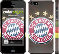 """Чехол на iPhone 5 Бавария Мюнхен 3 """"1563c-18"""""""