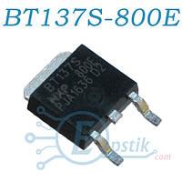 BT137S-800E, симистор 800В, 8А, TO252