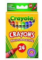 Карандаши Цветные восковые мелки (24 шт), Crayola (0024)