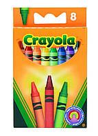 Карандаши Цветные восковые мелки (8 шт), Crayola (0008)