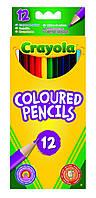 Карандаши Цветные карандаши (12 шт), Crayola (3612)