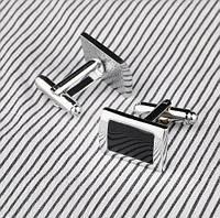 Запонки мужские классические для рубашки