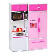 Кухня для Барбі з холодильником 6610-11